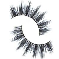 Black Luxurious 100% Real Mink Natural Thick Eye Lashes False Eyelashes D-6 TGS