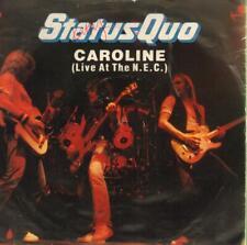 """Status Quo-7"""" Vinyl P/S-Caroline-Phonogram-QUO 10-65-VG/VG"""