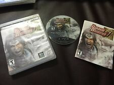 Dynasty Warriors 7 (Sony PlayStation 3, 2011)COMPLEE