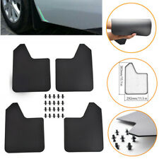 4x Mud Flaps Universal For Car Pickup SUV Truck Mudflaps Mudguards Splash Guards