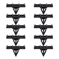 10x Fender Flare Rocker Moulding Clip For Jeep Wrangler Unlimited JK 68039280-AA