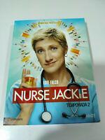 Nurse Jackie Segunda Temporada 2 Completa Edie Falco - 3 x DVD