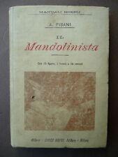 Manuali Hoepli 1 edizione Mandolinista Musica Pisani Milano 1899 Liuteria