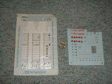 Microscale decals HO 87-299 Mitsui OSK 40' 20' Showa WMC Conrail  E134
