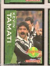 1995 NEW ZEALAND  RUGBY LEAGUE LEGEND CARD #58  KEVIN TAMATI, WIDNES, WARRINGTON