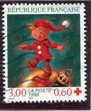 TIMBRE FRANCE OBLITERE N° 3199 LUTIN / CROIX ROUGE /  Photo non contractuelle