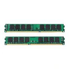 NEW! 4GB Kit 2x 2GB DDR3 1333MHz PC3-10600 Non ECC Desktop Memory RAM 1333