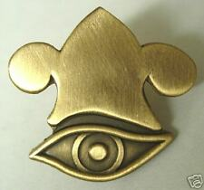ALL SEEING EYE & PHRYGIAN CROWN Coin Pin mormon lds