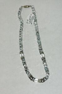 "New Swarvoski Crystal Bead and Rondels Necklace 16"""