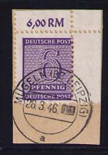 SBZ,  Mi-Nr. 117 A Xa, Briefstück, geprüft