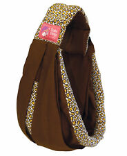 New Baba Sling Baby Carrier Boutique Brown Leopard