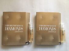 Emporio Armani Diamonds Intense By Giorgio Armani Perfume Sample 0.05 oz - 2 Pcs