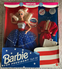 LIMITED EDITION BARBIE FOR PRESIDENT DOLL NEW IN BOX MATTEL # 3722 1991
