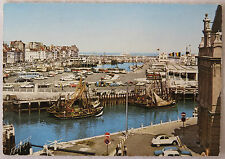 Postcard Belgium. Fishing Port, Ostend. Posted