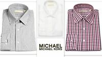 Mens Shirt Michael Kors Slim Fit Designer Pure Cotton Long Sleeve