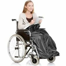 WHEELCHAIR COZY WRAP WATERPROOF FLEECE BLANKET THROW TRAVEL LINED COSY LEG COVER