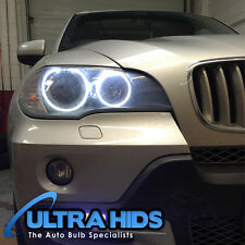 BMW X5 E70 LED White Angel Eyes Halo Rings Upgrade For Halogen Cars