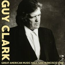Guy Clark - Great American Music Hall, San Francisco 1988 (2017)  CD  NEW/SEALED