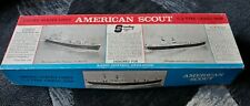 Vtg. Sterling Models American Scout C-2 Type Cargo Ship - Wood Model Kit