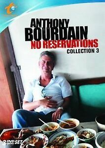 Anthony Bourdain: No Reservations - Collection 3 (DVD, 2009, 3-Disc Set)