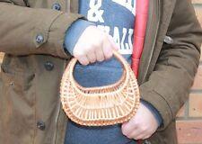 HANDMADE- Wicker Basket -small for child,easter,egss,flowers,WEDING