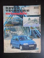 Revue technique automobile n°566 10/1994 Fiat Punto