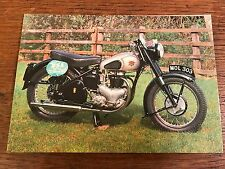 Vintage 1952 500cc BSA Star Twin National Motorcycle Museum Postcard