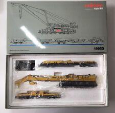 """Märklin H0 49950 Kranwagen/ Kran-Set """"Goliath"""" digital, in Neuzustand + OVP!!!"""