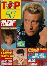 REVUE : TOP 50 062 complet JOHNNY FRANCE GALL MYLENE FARMER A-HA MADONNA LIO