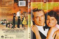 Houseboat (1958) Cary Grant Sophia Loren - R1 USA DVD **UK Seller**