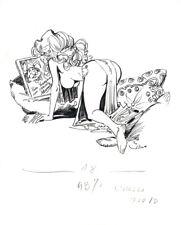 RARE  LORNA - Alfonso AZPIRI's original artwork