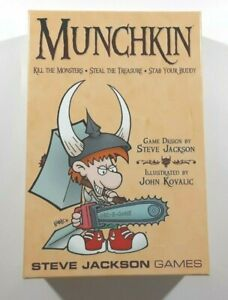 MUNCHKIN by Steve Jackson Game 1st Edition 24th Printing Jan 2013 New Opened Box
