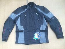 "RK SPORTS Mens Textile Motorbike / Motorcycle Jacket Size UK 48- 50"" Chest (H44)"