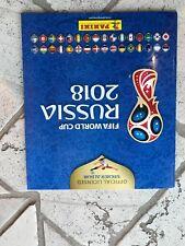 Panini WM 2018 Russland Komplett 682 Sticker + Leeralbum - WC - Fussball-Russia