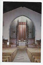 Vintage Postcard Schenectady NY First Methodist Church Interior