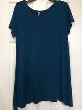 Teal Tunic Top Or Dress Size XL