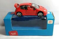 REAL TOY / SAINSBURY'S 1:64 SCALE DIECAST RED PEUGEOT 206 - BOXED