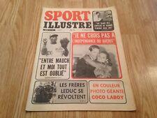 """SPORT ILLUSTRÉ JOURNAL """" Juillet 1969' """" poster inclus: JOSE """"COCO"""" LABOY"""