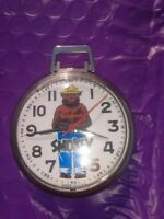 RARE VINTAGE SMOKEY THE BEAR OFFICIAL FORSET POCKET WATCH PARTS/RESTORE