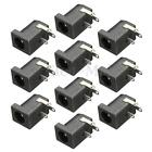 10pcs 5.5 x 2.1mm DC Power Supply Female Jack Socket 3 Legs PCB Mount Connector