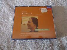 """.CATALANI """"LA WALLY"""" (TEBALDI,DEL MONACO)  DECCA GRAND OPERA SERIES  2 CDs"""