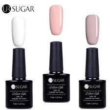 3Bottles/Set Nail UV LED Gel Polish Soak Off  White  Decors UR Sugar