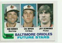 1982 Topps Baseball | Cal Ripken Jr RC | #21 | Orioles | HOF Sharp Corners M