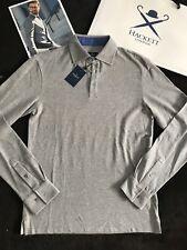 HACKETT LONDON - Polo Shirt (M Size Slim fit (Grey Colour) - Silk (seda) 149€
