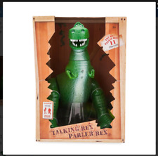 [Disney Store] Rex Interactive Talking Action Figure Toy Story 12 - New