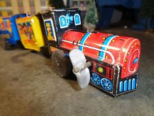 VINTAGE WIND UP TINPLATE TRAIN  MADE IN JAPAN      5-51-10
