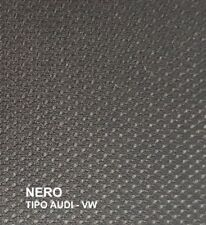 Tessuto Rivestimento Cielo Tetto Auto Imperiale tipo AUDI/VW n. d'ape nero