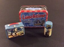LONE RANGER Lunchtime Salt & Pepper Shakers in Lunch Tin VANDOR Hi-Yo Silver!