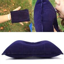 2Pcs Portable Ultralight Inflatable Air Pillow Cushion Travel Hiking Sleeping US