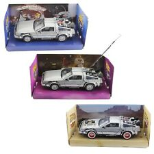 DeLorean Back To The Future 1:24 Diecast Time Machine by Welly movie car